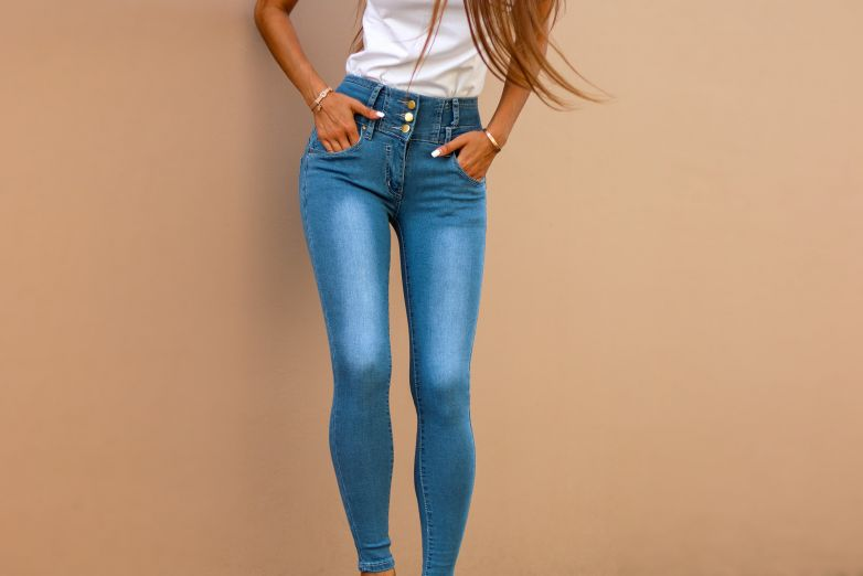 Jeans collection with Anna